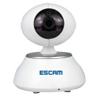 ESCAM QF550 1/4 CMOS 1.0MP Alarm IP Camera - White (US Plug)