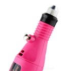 Pen Shape Electric Nail Drill Machine + 6 Bits - Pink