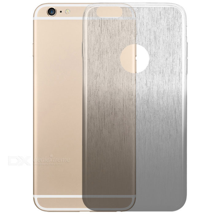 Protective TPU Back Case for IPHONE 6 PLUS / 6S PLUS - White + Black