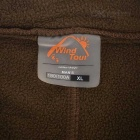 Wind Tour Men's Cycling Warm Breathable Fleece Jacket - Brown (XL)