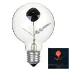 E27 3W Rose Estilo decorativa NEON Globe 35lm Lamp Lâmpada colorida (AC 220V)