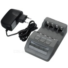 BT-C700 Smart 4-Slot Internal Resistance Testing Battery Charger for AA / AAA Battery - Grey