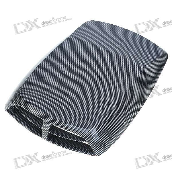 Universal Air Flow Vent Hood Cover for Car universal air flow vent hood covers for car silver pair