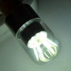 G9 4W 6-COB LED Bulb Lamp Cool White Light 342lm - White + Silver