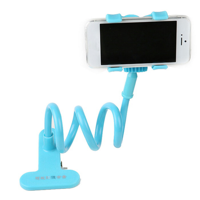 Mobile Phone Aluminum Magnesium Alloy Holder for IPHONE 5S / 5 - Blue