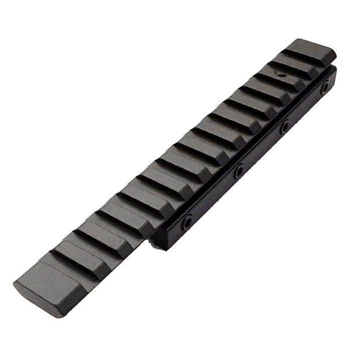 ACCU 11mm to 20mm Gun Rail Dovetail Adapter - Black