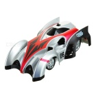C1 USB Rechargeable 2.4GHz 4-CH Remote Control RC Wall Climbing Climber Car Toy - Red + Silver