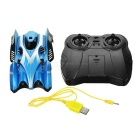 C1 USB Rechargeable 4-CH RC Wall Climbing Climber Car Toy - Blue
