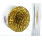 Amazing Shape Ferrofluid Display Hydromagnetic Casebottle Novelty Decompression Toy - Golden Color