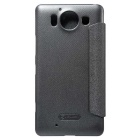 NILLKIN Protective PU + PC Case for Microsoft Lumia 950 - Black