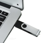 Rotierenden High-Speed ​​USB 2.0 Flash Drive - Silber + Schwarz (16 GB)