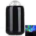 Mini Portable Disco Handsfree Bluetooth Subwoofer Speaker w/ RGB Stage Light - Black