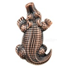 Creative Design Butane Gas Cigarette Lighter - Bronze