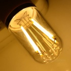 E27 4W LED Bulb Lamp Warm White Light 3500K 100lm - White + Transparent (AC 85~265V)