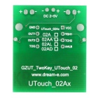 2-Channel Digital Capacitive Touch Sensor Switch Module for Arduino