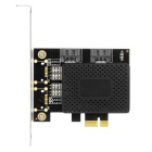 Desktop PCI-E To Dual SATA 3.0 Up To 6Gbps Expansion Adapter Card