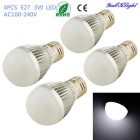 YouOKLight E27 3W LED Globe Bulb Lamp Cool White Light