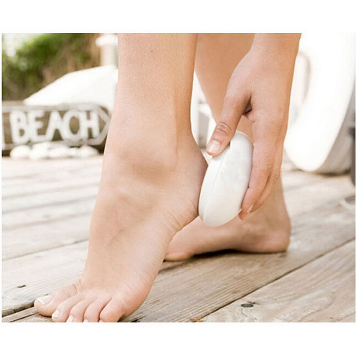 how to clear dead skin from feet