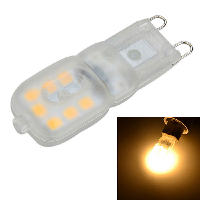 G9 Dimmable 3W 200lm 3500K Quente Lâmpada 14-LED White Light Pin (AC 220V)