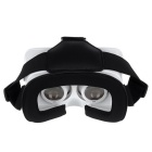 "Magnet Control Head Mount VR 3D Glasses for 3.5""~6.0"" Phone - White"