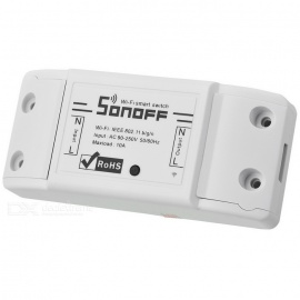 Sonoff Smart Wifi Switch DIY Remote Wireless Smart Switch Domotica Wifi Light Switch - White (4 PCS)