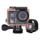 "H2R 2"" LCD 12MP Sport DV 4K 1080P Action Camera w/ Remote Controller"