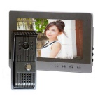 ROCS Metal Alloy Anti-Rain Cmos Outdoor Station + HD 10 inch Indoor Monitor Video Doorbell Kit