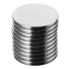 Buy Round D18 x 2mm NdFeB Magnets - Silver (10PCS)