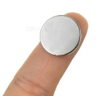 Round D18 x 2mm NdFeB Magnets - Silver (10PCS)