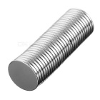 Round D18 x 2mm NdFeB Magnets - Silver (30PCS)