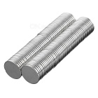 Round D18 x 2mm NdFeB Magnets - Silver (100PCS)