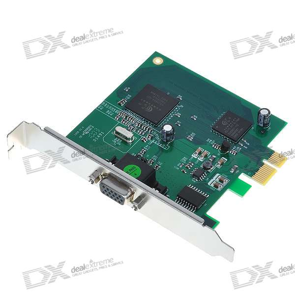 8-CH H.264 DVR Video Capture PCI-E Card for Security Cameras (PAL/NTSC)