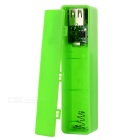 "0.7"" LCD Screen 1 x 18650 Battery Mobile Power Bank Case for IPHONE - Green"