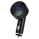 Bluetooth MP3 Player & FM Transmitter Hands-Free Car Kit w/ USB 2.0 Charger / TF Card Slot - Black
