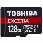 Toshiba THN-M301R1280EA M301 128GB Exceria MicroSD Card with Adapter