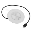 Cwxuan Waterproof Qi Standrad Desktop Wireless Charger Quick Charger - White
