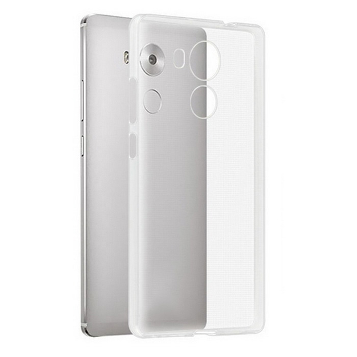 Protective TPU Back Case Cover for Huawei Mate 8 - Transparent
