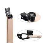 OldShark 0.67X Universal Clip-on 3-in-1 Fish Eye + Wide Angle + Micro Lens Kit for IPHONE & More