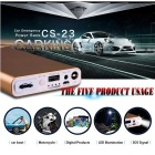 CARKING 8000mAh Car Battery Jump Starter w/ LED Flashlight - Golden