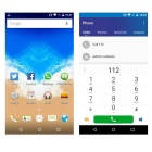 "VKWORLD VK800X Android 5.1 telefone 3G w / 5.0"" , 1GB de RAM, 8GB ROM - ouro"