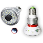 BC-785W HD720P Wi-Fi IP Bulb Camera - Branco + prata
