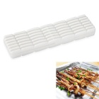Multi-Function Barbecue Meat Skewer Kebab Maker Machine BBQ Tool - White