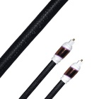 M1000 High Resolution Toslink Male to Male Digital Coaxial Cable - Black (1.2m)