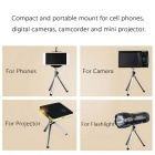 Portable Stretchable Selfie Tabletop Bracket Mount Holder Tripod for Projector / Camera / Cellphone