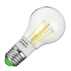 E27 4W LED Globe Bulb Lamp Warm White 3500K 360lm 4-COB (AC 85~265V)
