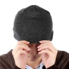 Soft Warm Bluetooth Music Beanie Hat Cap w/ Stereo Headphones Speaker / Wireless Mic / Hands-Free