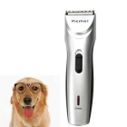 KEMEI KM-8201 Rechargeable Electric Hair Clipper Trimmer Shaver for Pets / Dog / Cat