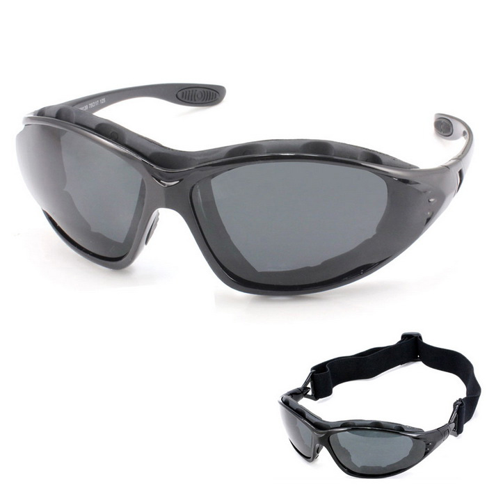 Panlees QM139 Anti-Wind Polarized Motorcycle Sunglasses Goggles