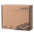 "MAIWO K2503D 2.5"" Mobile Hard Disk Box for SATA Serial USB 3.0 Notebook Hard Disk - Black"