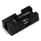 Plastic I2C Port Splitter Board Expansion Card for Pixhawk w/o Cable - Black